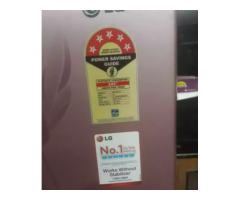 LG Fridge 5 STAR new condition