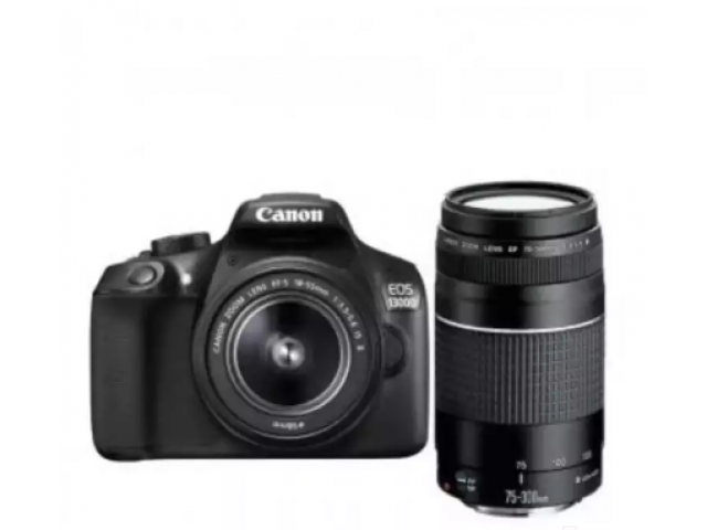 Cannon 1300d with dual lens