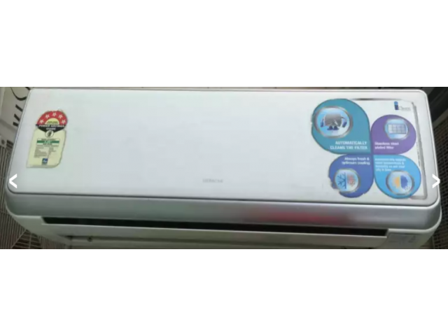 "Hitachi ""5 star rating. 1.5 ton split ac in very"