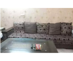 10 seter L shape sofa with table