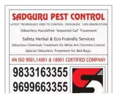 Pest Control Services - Cleaning Services in Mumbai, Thane Navi Mumbai