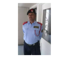 Opening Job vacancy for security guards