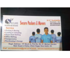 Secure Packers and Movers providing a