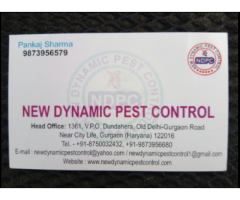 New Dynamic Pest Control