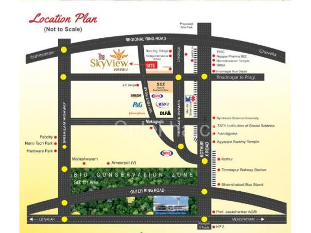 residential land for sale at kothur