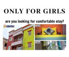 Girls PG available at jayadev bihar/fire station