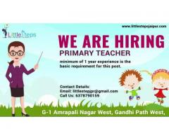 Primary Teacher required