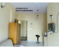 1 BHK 1 RK furnished short-long term soft-zone the hub wipsefdre