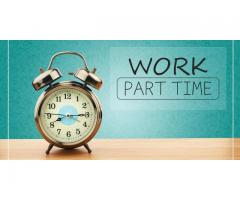 Work at home  for part time
