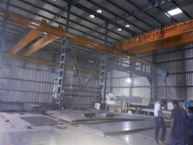 35000sft industrial shed for rent in peenya with crane