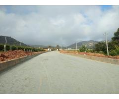 Residential plots in Nandihills with sale bank loan