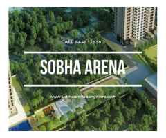 Book Sobha Arena Apartments in affordable price Bangalore