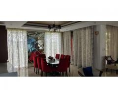4BHK Prestige Golfshire fully furnished villa available rent