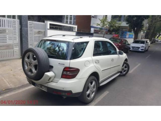 2008 Mercedes Benz ML 320 CDI, Single owner, Only 67k km done. White