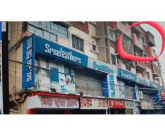 VERY BIG 3 BHK WITH MAIN ROAD FACING 3 BALCONYS OPP STATION
