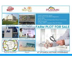 DTCP Approved residential plot at Kothur