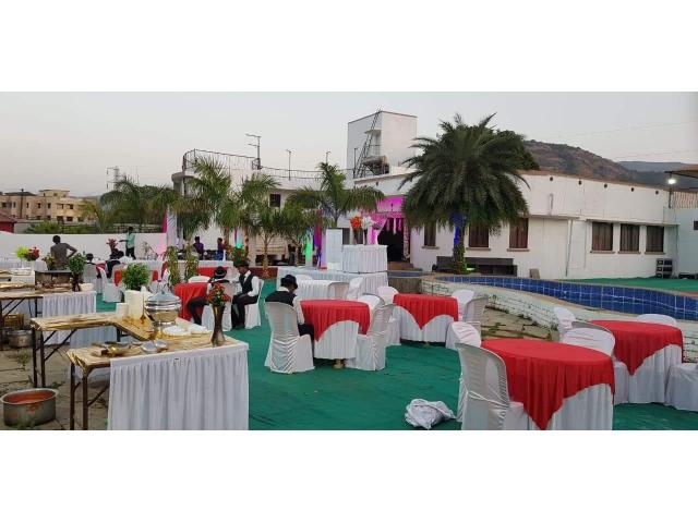 Bungalow for rent in Lonavala for New Year Party Weddings