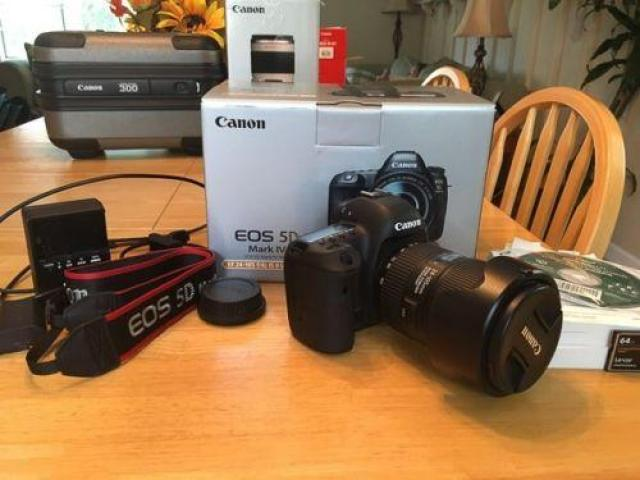 Canon EOS 5D Mark IV 304MP Digital SLR Camera EF 241
