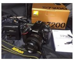 Brand New Nikon D7200 DXformat DSLR w 18140mm VR Lens Black
