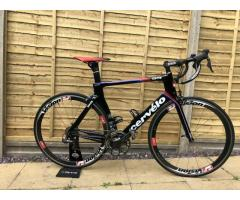 Cervelo S5 Team Edition Road Bike Shimano Dura-Ace Di2 Vision Wheels Fizik Saddl