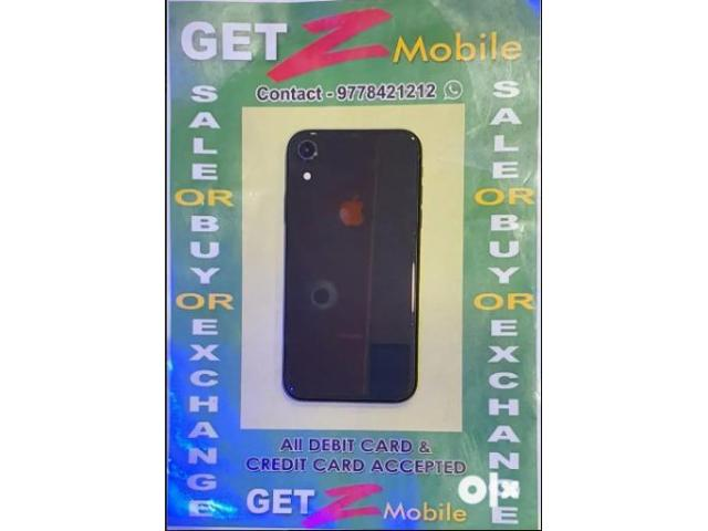 iPhone XR Black 64 GB ( 10 month)-GetZmobile