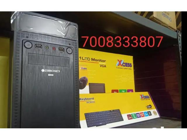 FESTIVE OFFER new dual core pc set with let keyboard mouse set 7999/-