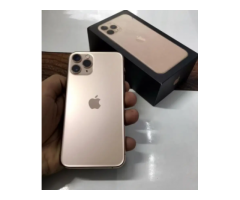 Apple iphone 11 pro 64gb gold color indian bill box all accessory