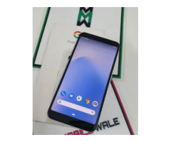 Google Pixel 3A XL 64gb 11month old with bill box and all accessories