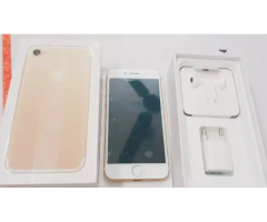100% original product iPhone 7 128gb with bill box one month sellers