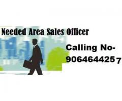 Urgent Opening for Area Sales Officer @ Delhi