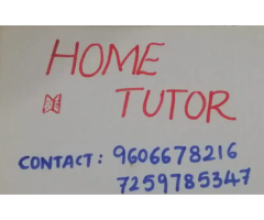 ₹ 500 - 1000 | Monthly Home tutor
