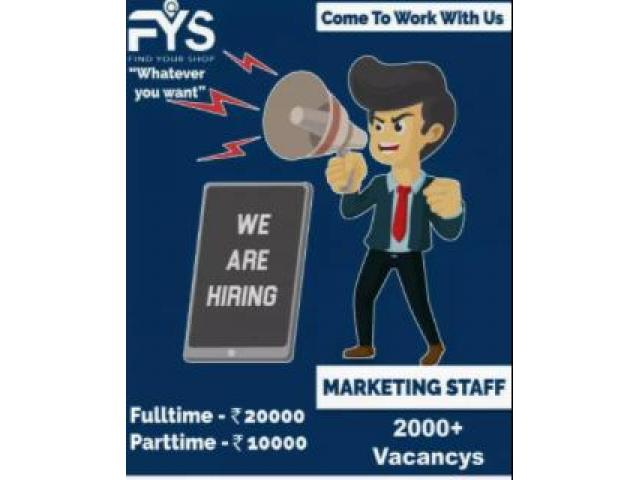 sales and marketing  jobs for fresher