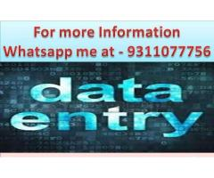 Home based data entry jobs Part time work available typing projects