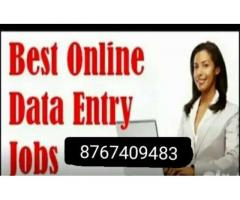 ₹ 500 - 900 Hourly | Need 150 candidates for data entry jobs part time apply now
