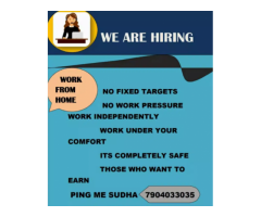 ₹ 10000 - 50000 | Monthly Immediate joinees bpo jobs work from home