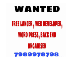 ₹ 5000 - 7000 | Weekly Wanted app developer,  freelancer web developer for office purpose
