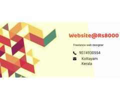 ₹ 8000 - 12000   Hourly if you want a website ?. We are a freelance Web developer in Kerala