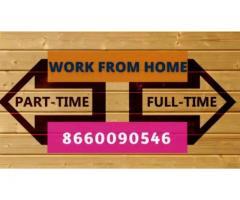 Home based typing jobs. Earn weekly 7000/- to 10,000/-