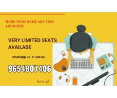 Great Income Opportunity data entry jobs in delhi