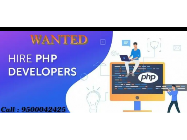 ₹ 15000 - 20000   Monthly Wanted PHP Web Developer and web developer job