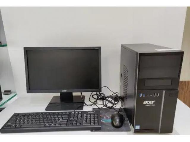 Acer Full set Desktop under warranty
