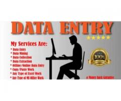 jobs vacancy for data entry jobs part time