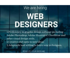 WEB DESIGNER JOBS FOR FRESHER