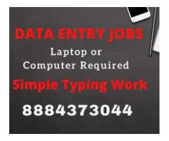 Best data entry jobs at home