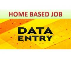 Best data entry jobs in home