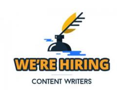 part time content writer jobs in bangalore