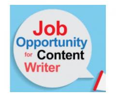 work from home content writer jobs