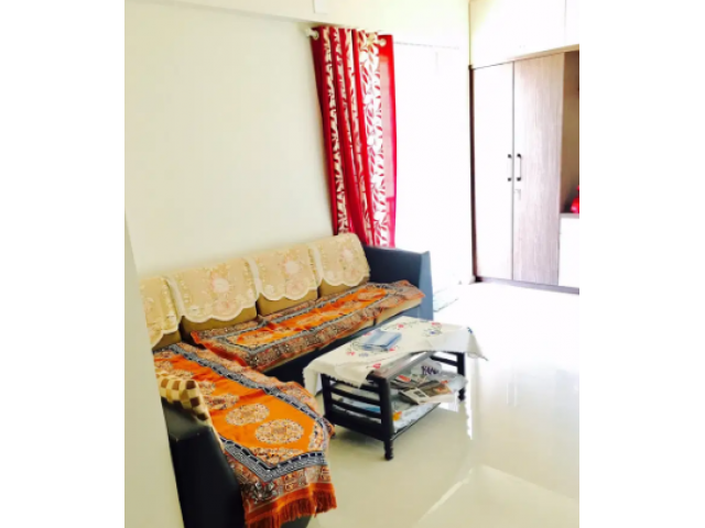 Semi Furnished 1Bhk Flat for rent in Parkwood Behind D-Mart Ghodbunder Thane