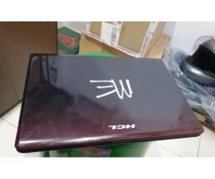HCL used best condition Laptop 500gb, 4gb, dvd , 14.5inc