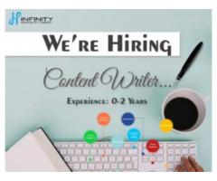 Hindi content writer jobs vacancy for freshers